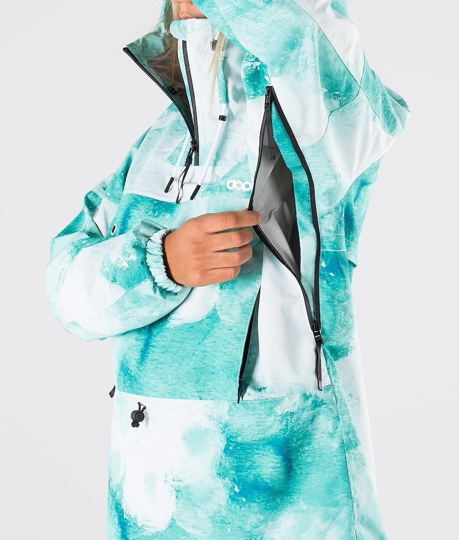 Dope Hiker W Women's Outdoor Jacket Water White