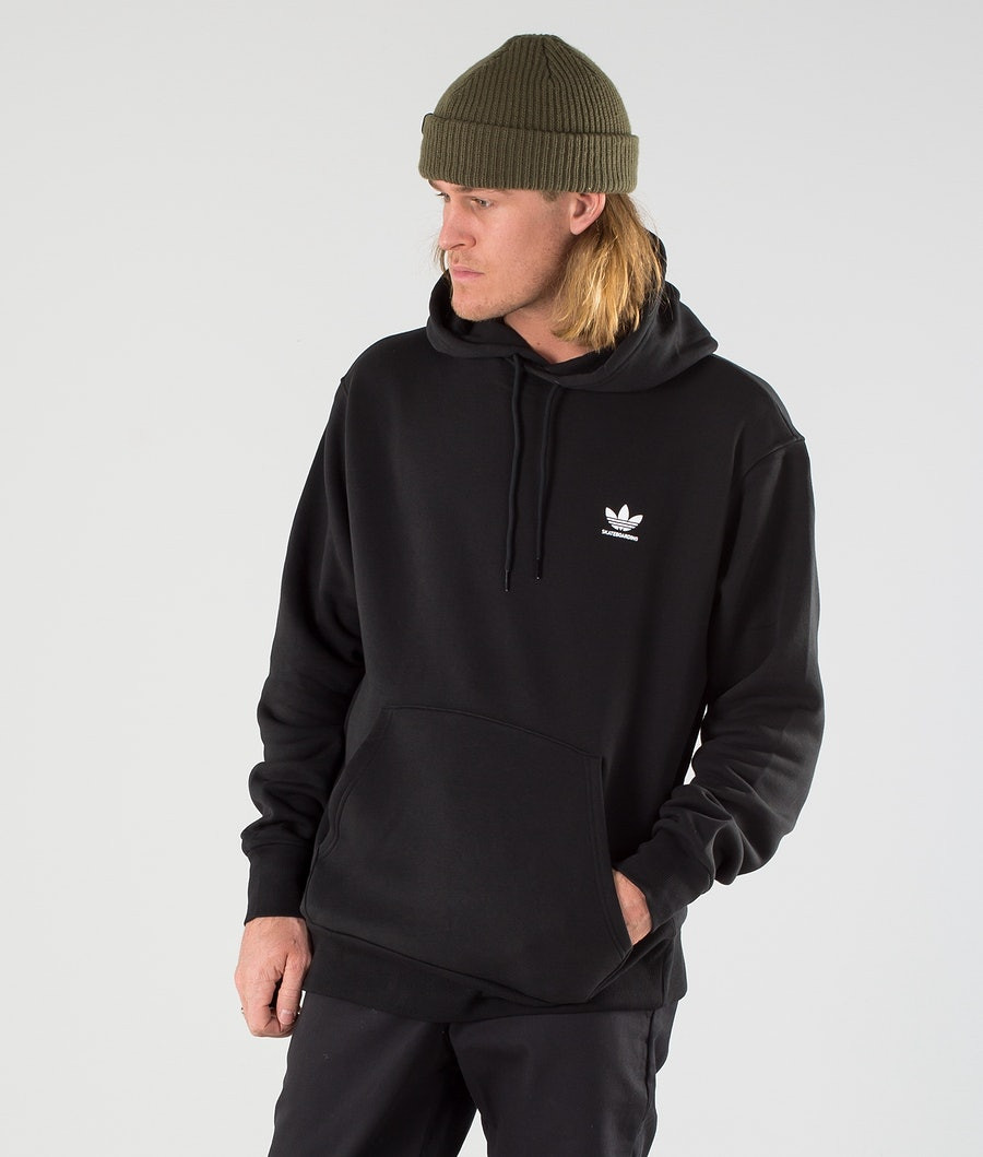 Adidas Skateboarding 2.0 Logo Felpa con Cappuccio Black/White
