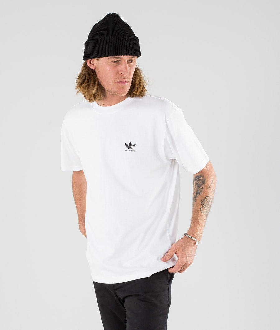 Adidas Skateboarding 2.0 Logo T-shirt White/Black