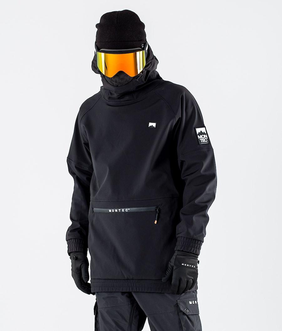 Montec Tempest Skijakke Black