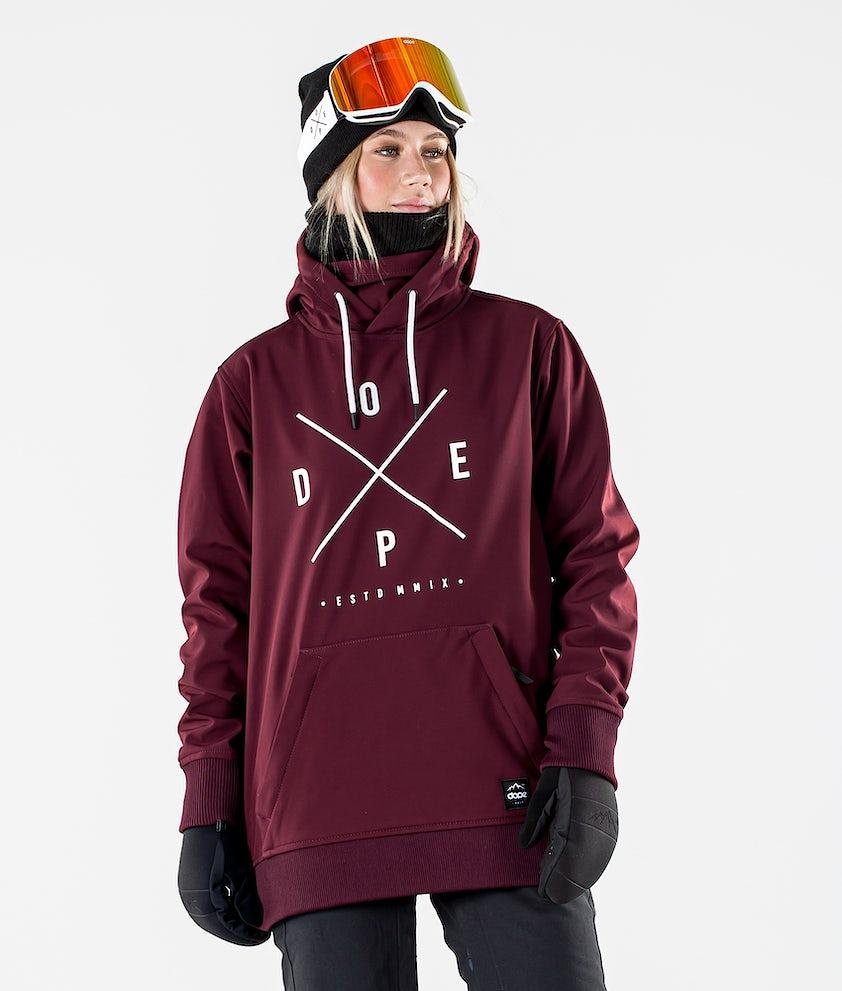 Yeti W Snowboard Jacket Women Burgundy