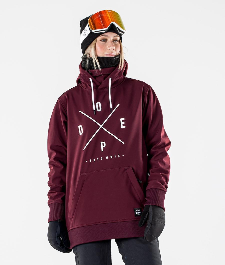 Dope Yeti W Snowboardjacka Burgundy