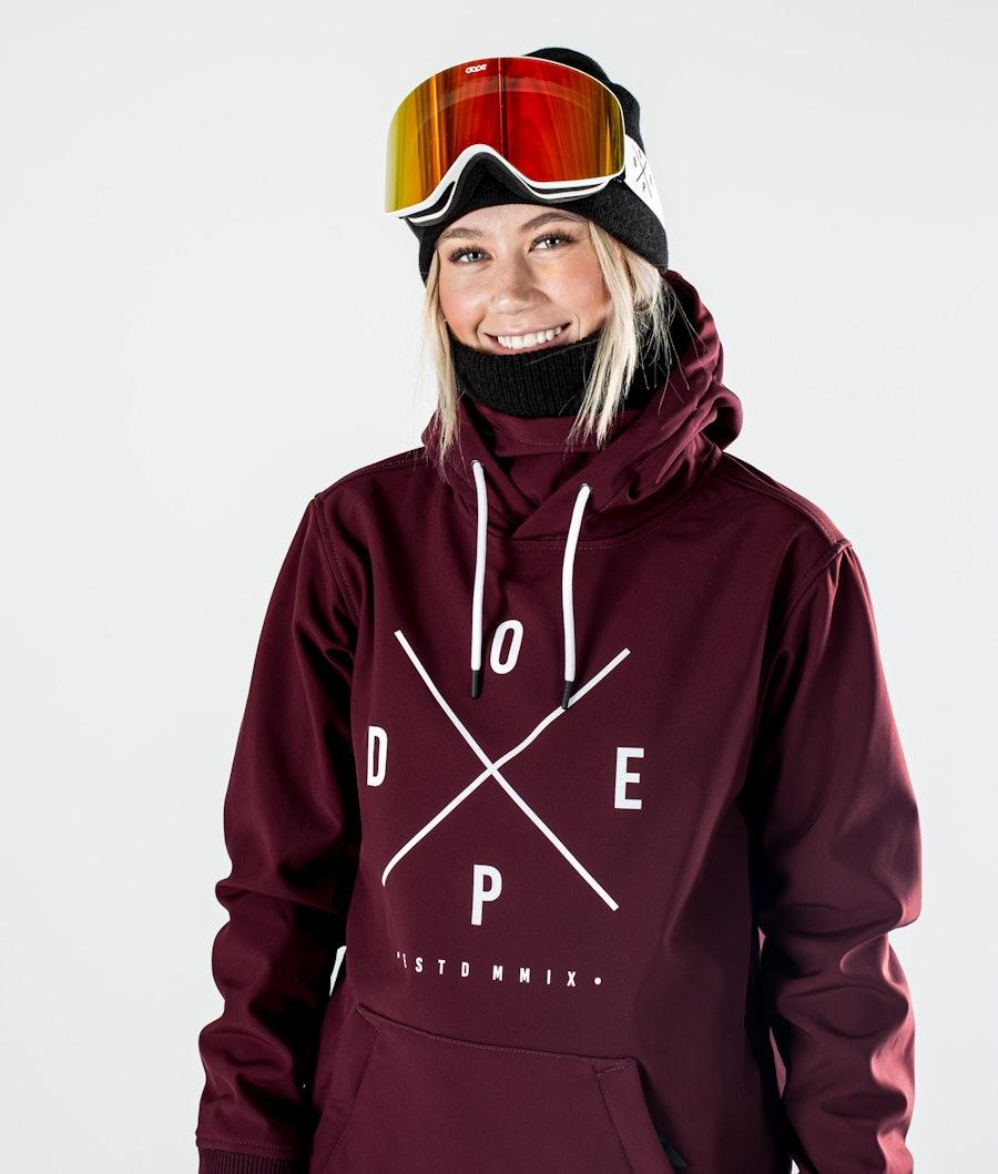 Dope Yeti W Skijakke Dame Burgundy