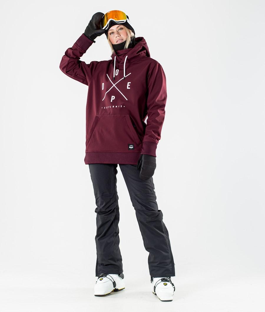 Dope Yeti W Women's Ski Jacket Burgundy