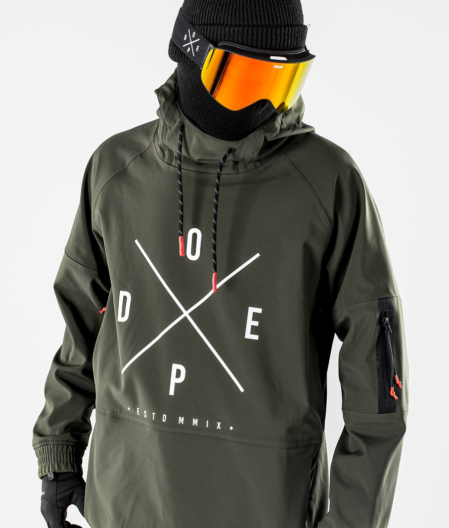 Dope Rambler MTE Snowboardjacka Green