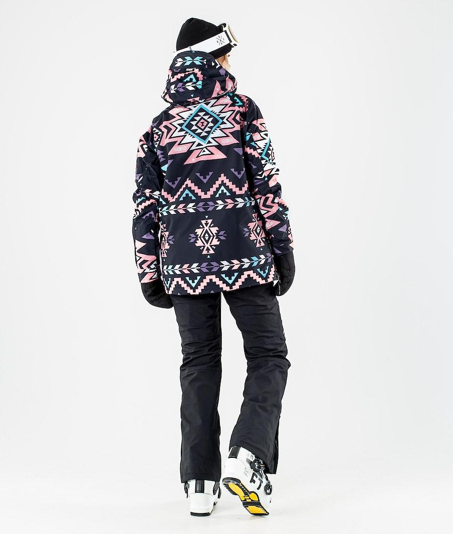 Dope Annok W Veste de Ski Femme Inka Pink