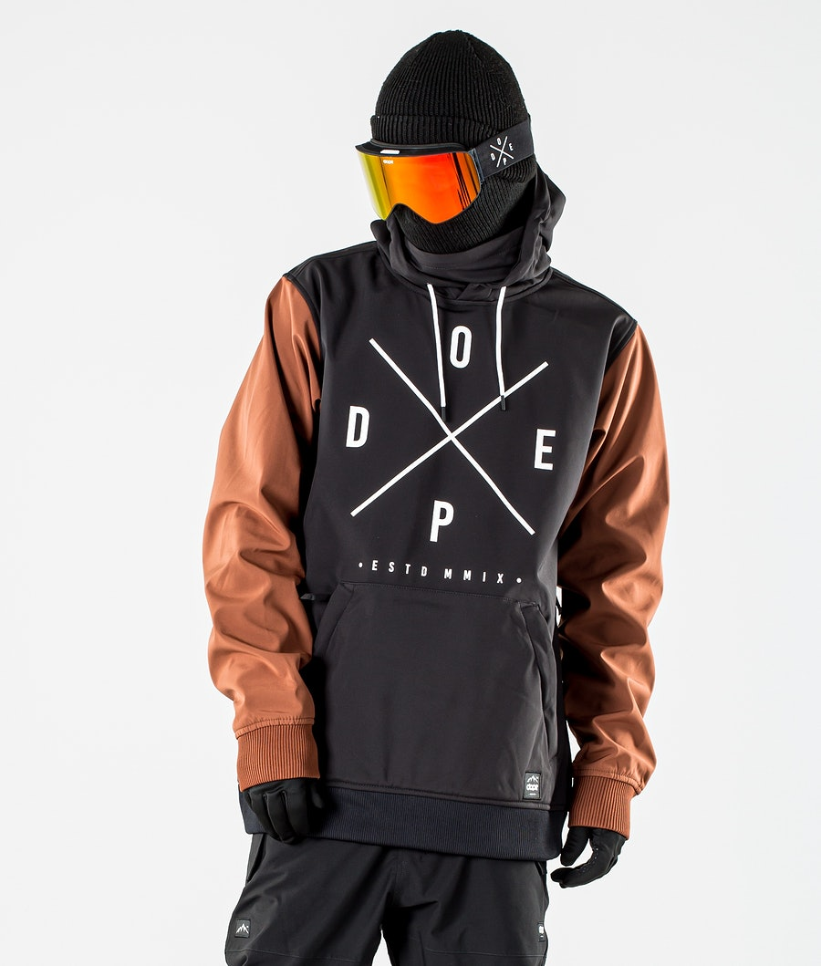Dope Yeti Snowboard Jacket Black/Adobe