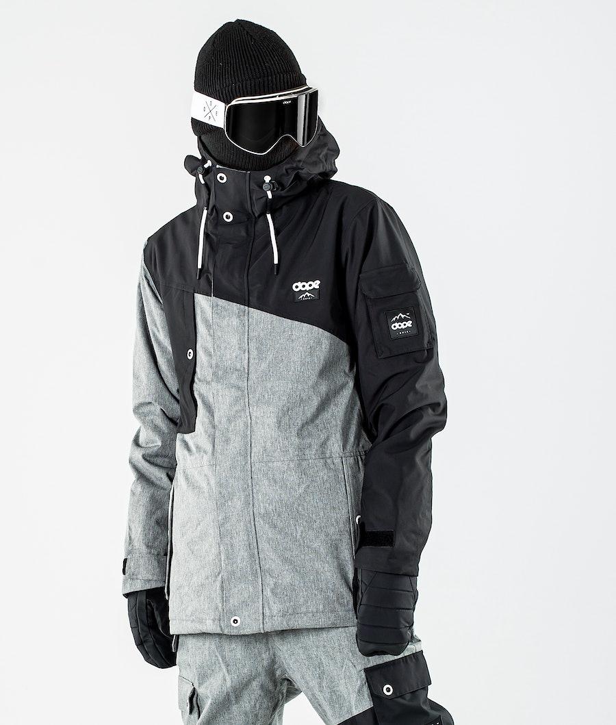 Dope Adept Snowboardjacka Black/Grey Melange
