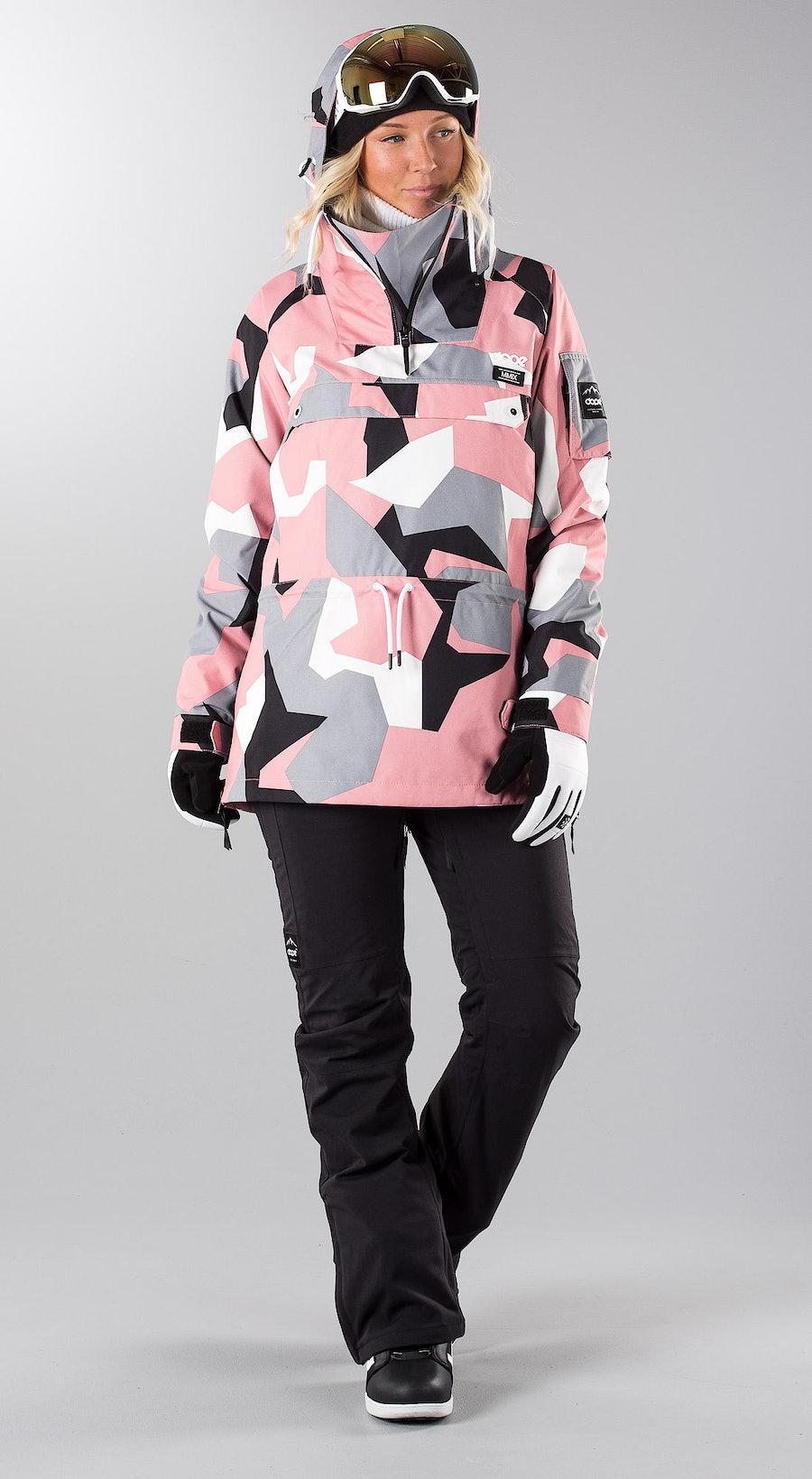 Dope Annok Pink Camo Snowboardkleidung Multi