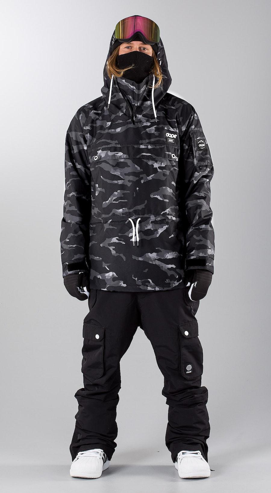Dope Annok Black Camo Snowboardkläder Multi