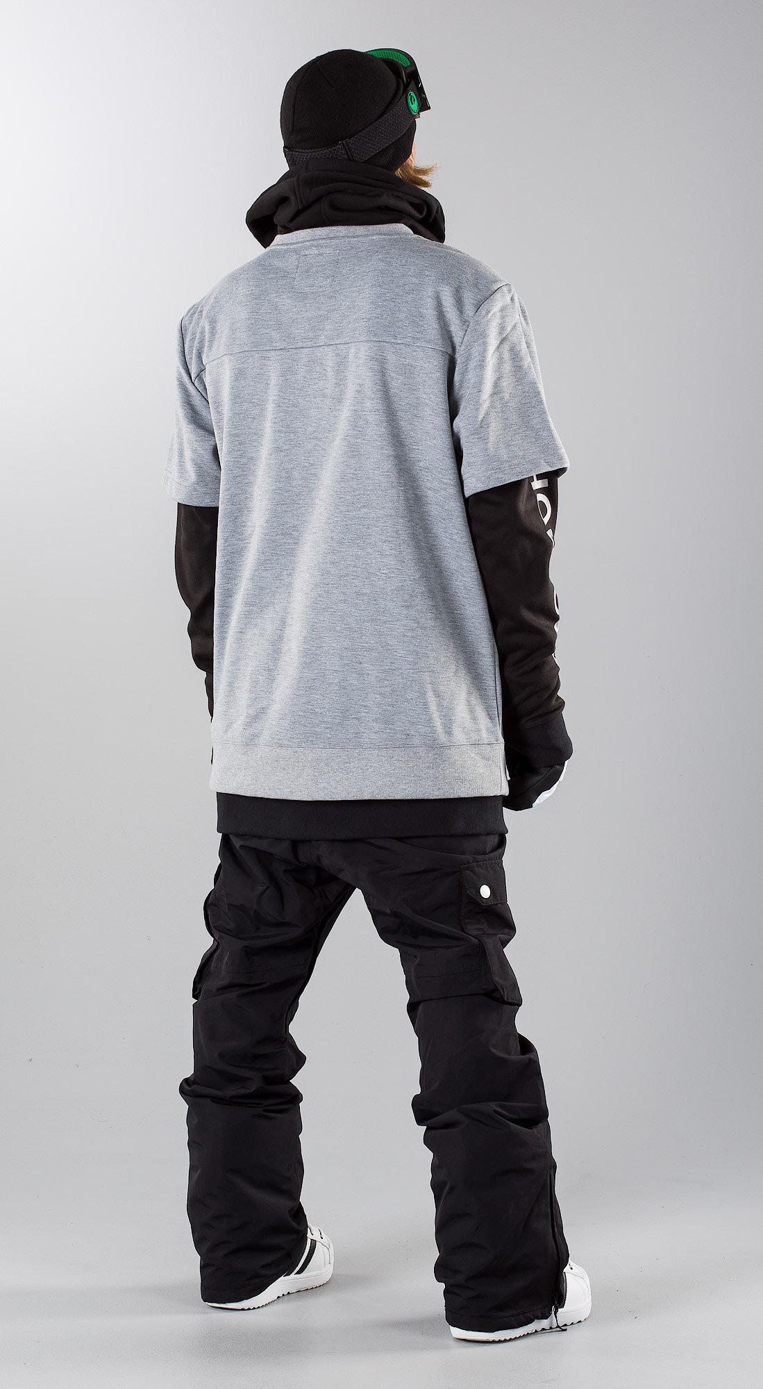 5bc4e5515de DC Dryden Neutral Grey Snowboard clothing - Ridestore