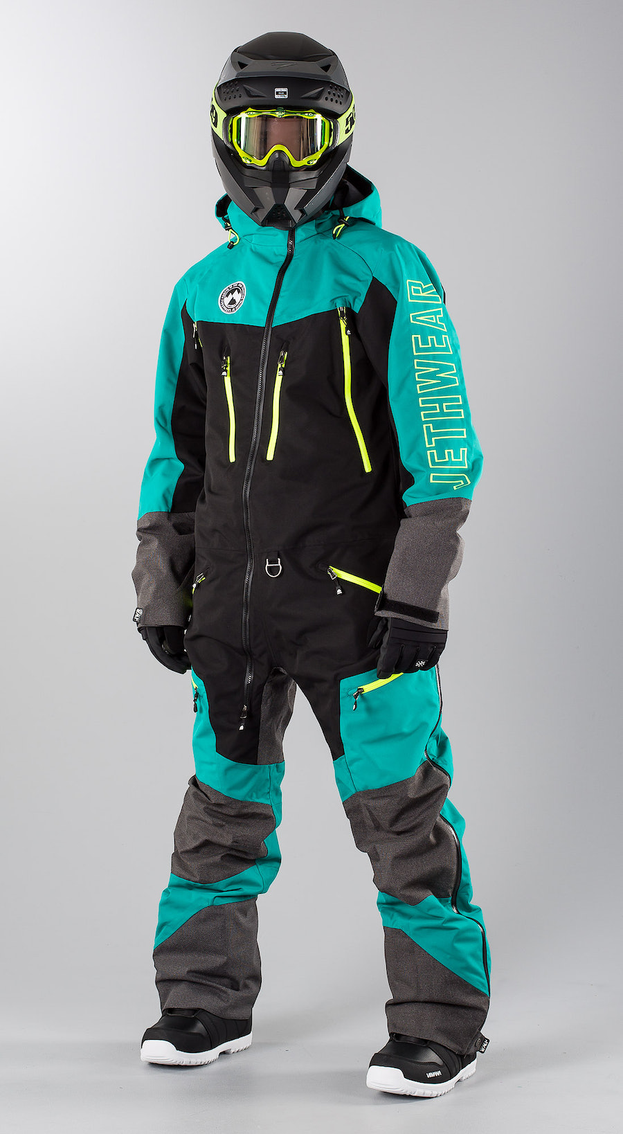 Jethwear Freedom Suit  Teal Snowmobile Bekleidung Multi