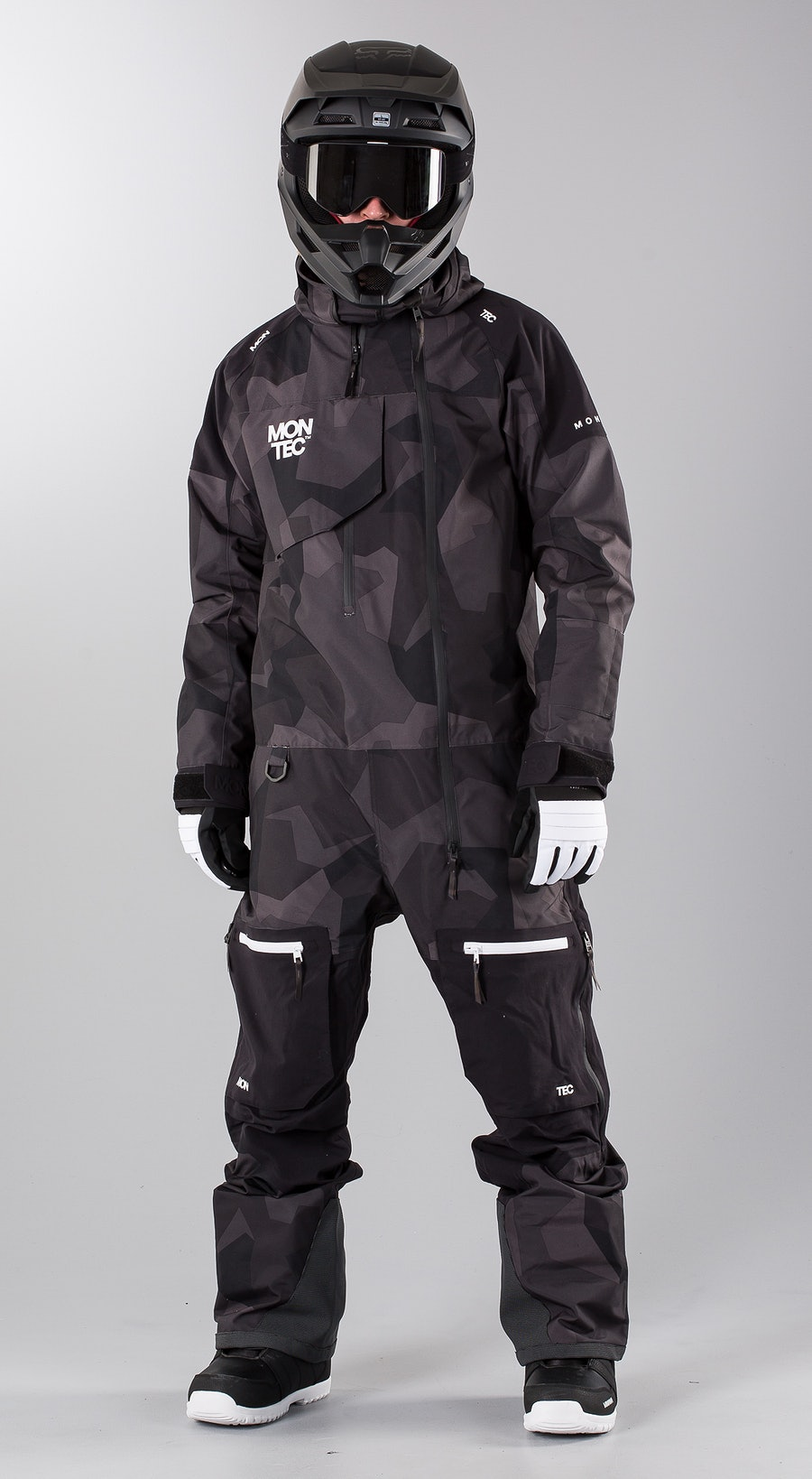 Montec Next Night Camo Snowmobile clothing Multi
