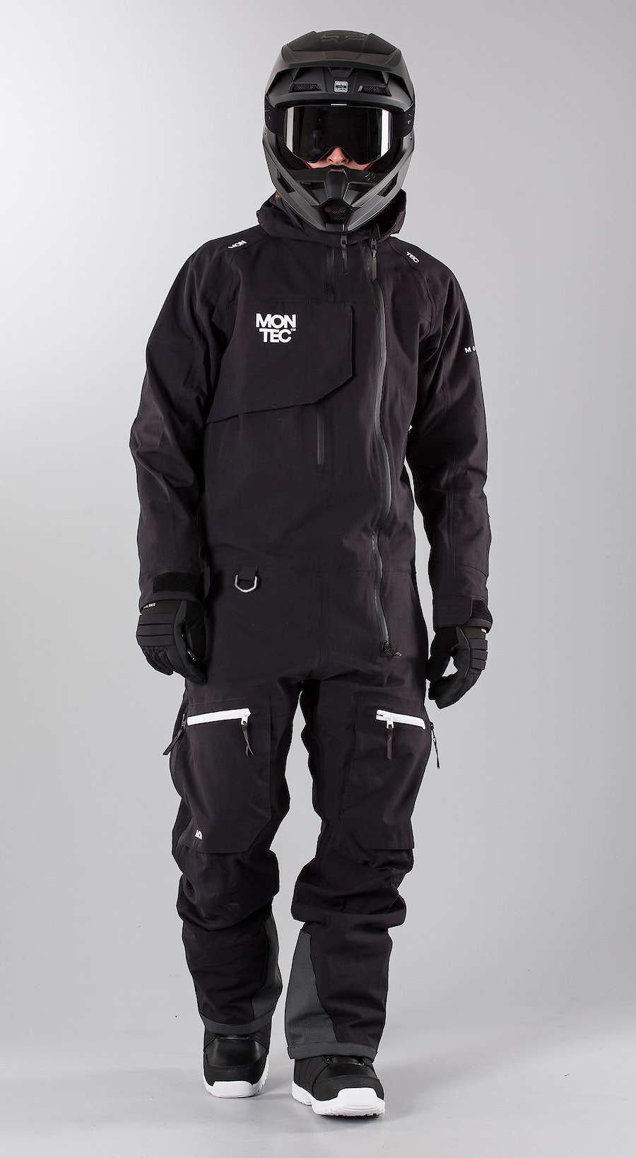 Montec Next Black Snowmobile clothing Multi
