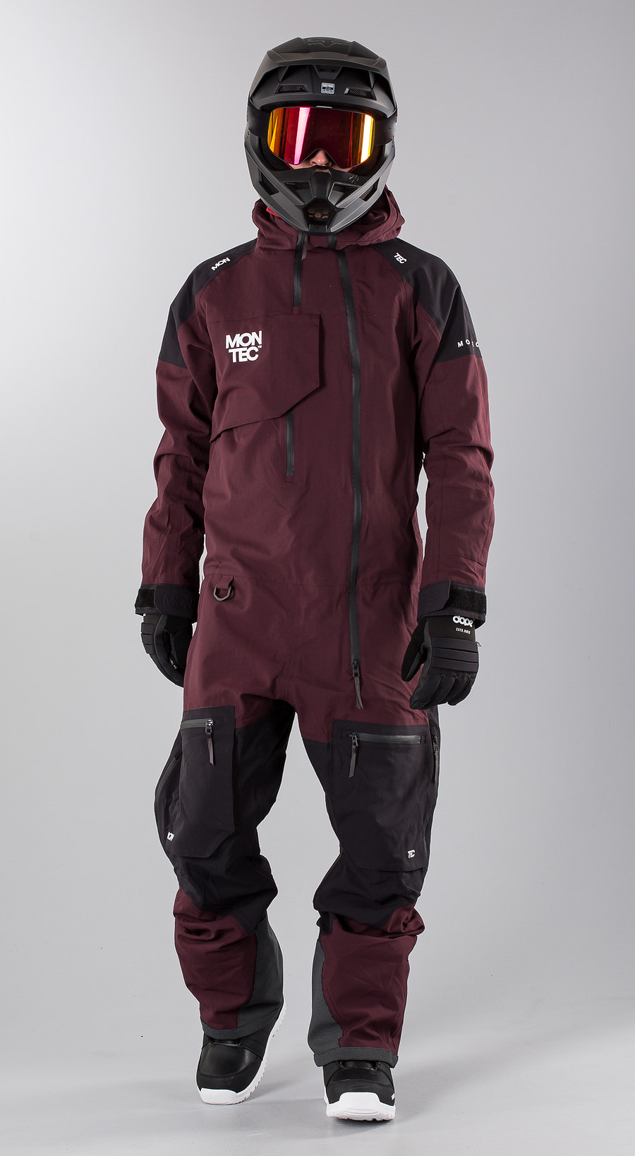 Montec Next Purple Snowmobile Bekleidung Multi