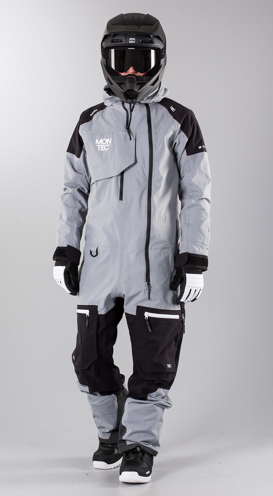 Montec Next Grey Melange Snowmobile clothing Multi