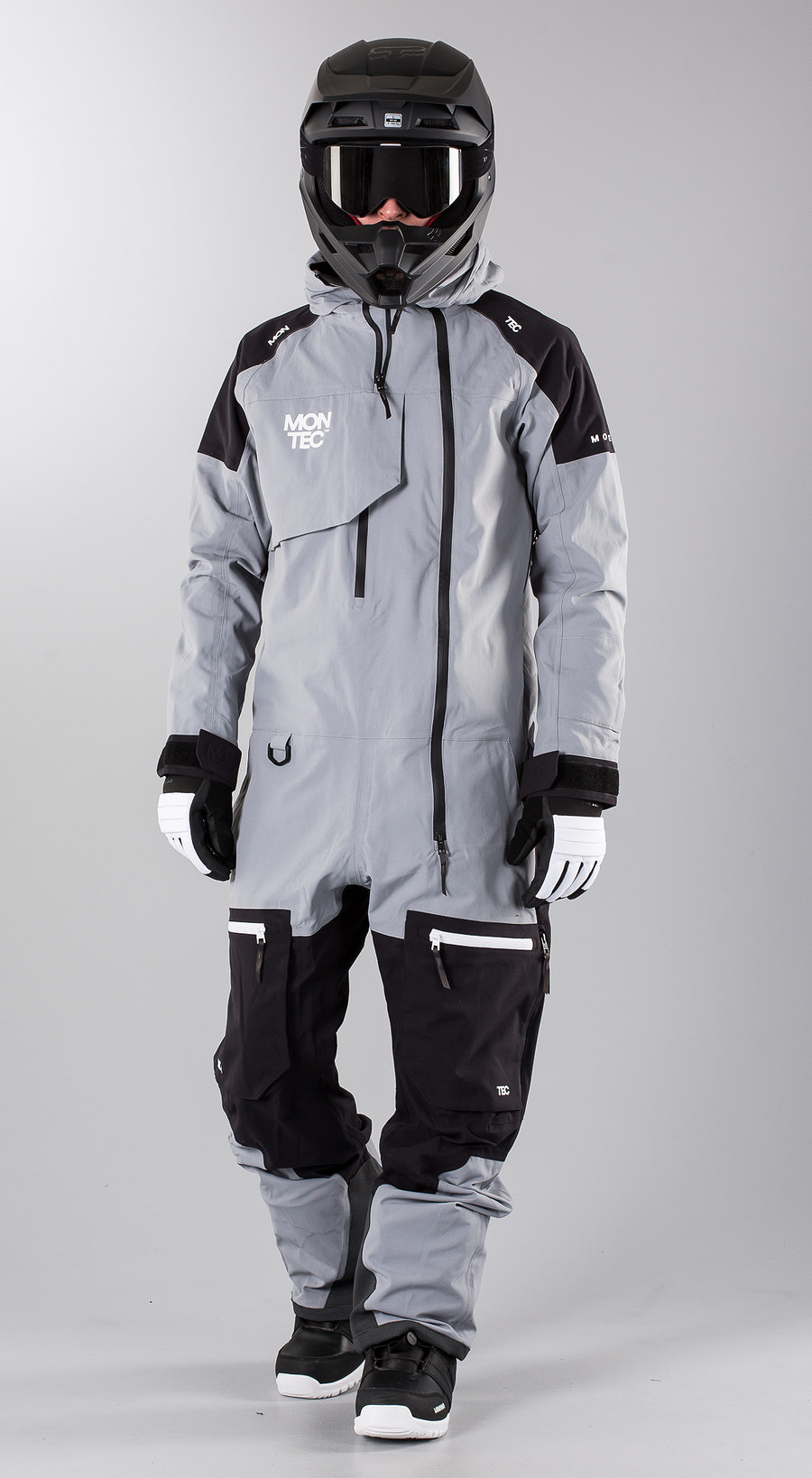 Montec Next Grey Melange Snowmobile Bekleidung Multi