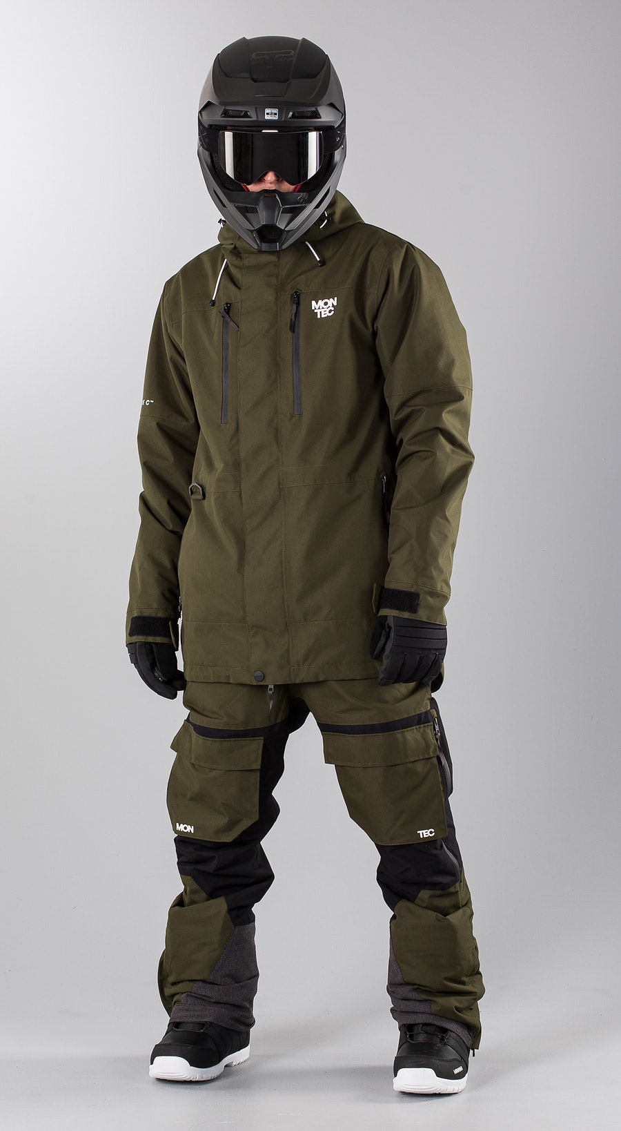 Montec Fawk Green Snowmobile clothing Multi