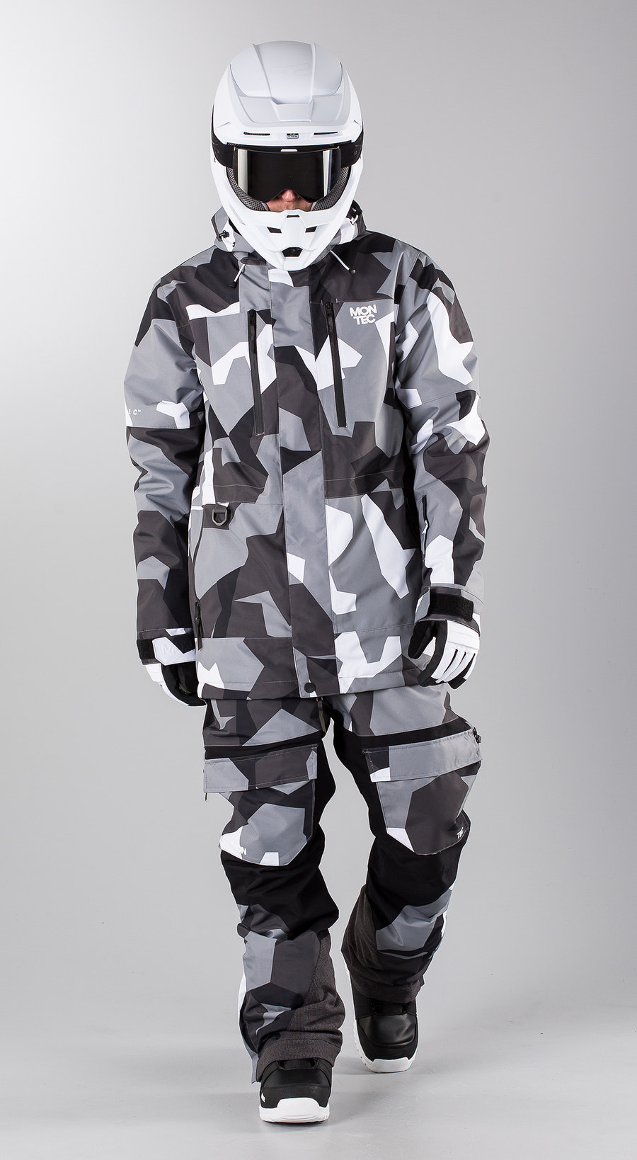 Montec Fawk Artic Camo Snowmobile clothing Multi