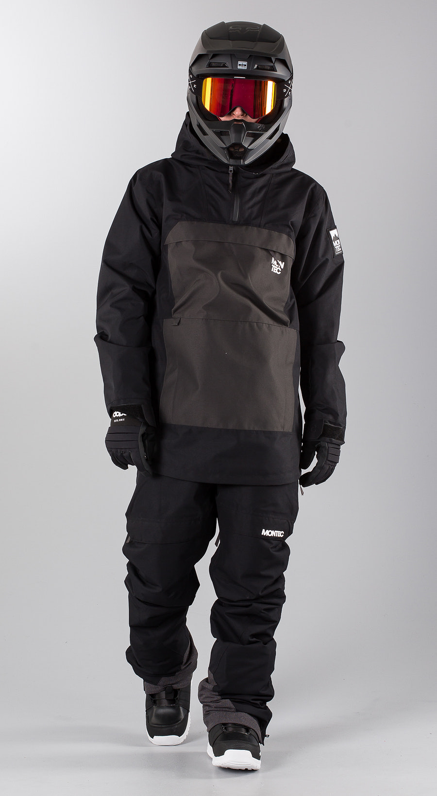 Montec Dune Black Dark Grey Snowmobile clothing Multi