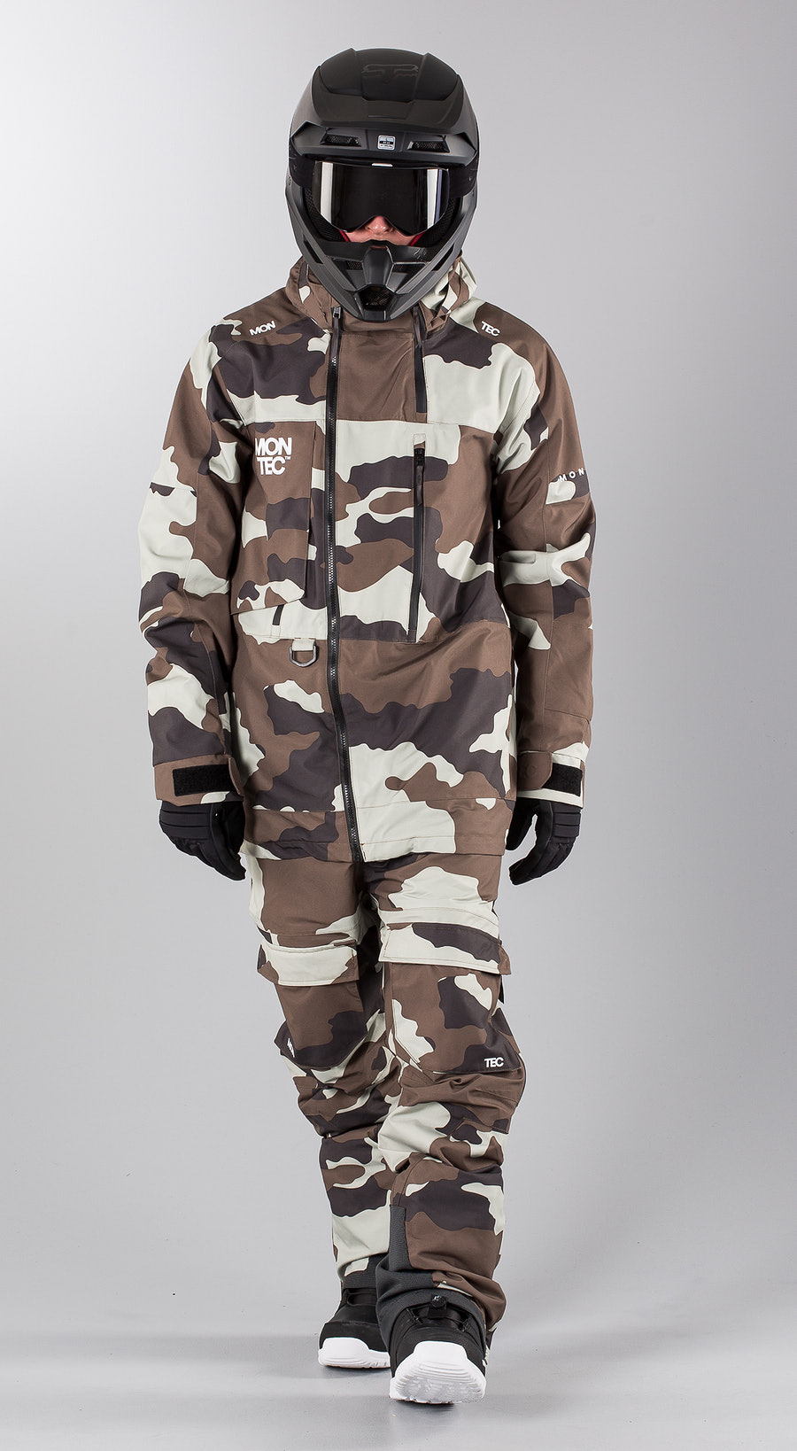 Montec Mount Earth Camo Snowmobile clothing Multi
