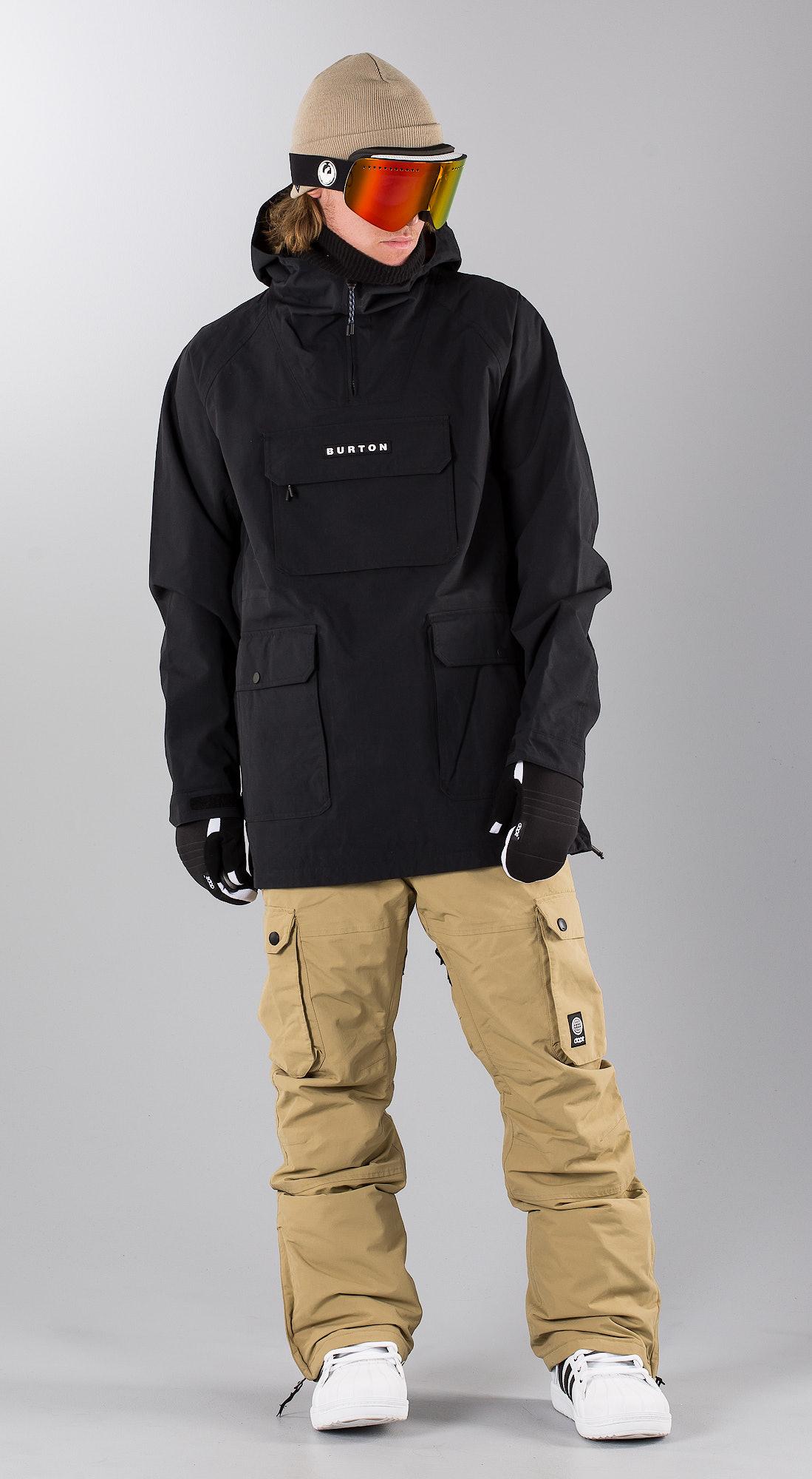 c8311acc05 Burton Paddox True Black Abbigliamento da snowboard - Ridestore