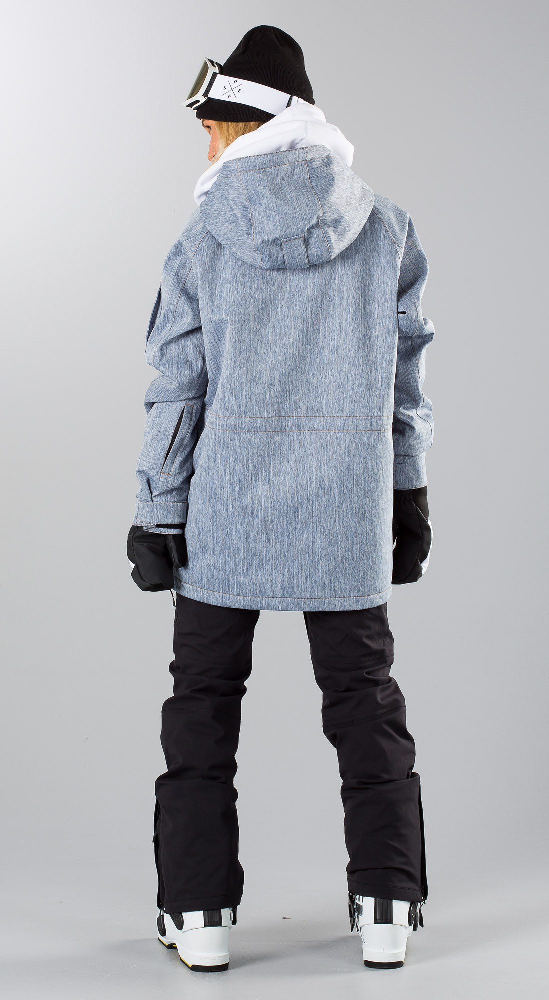 ad55be8700c154 Dope Annok W Blue Denim Ski clothing - Ridestore