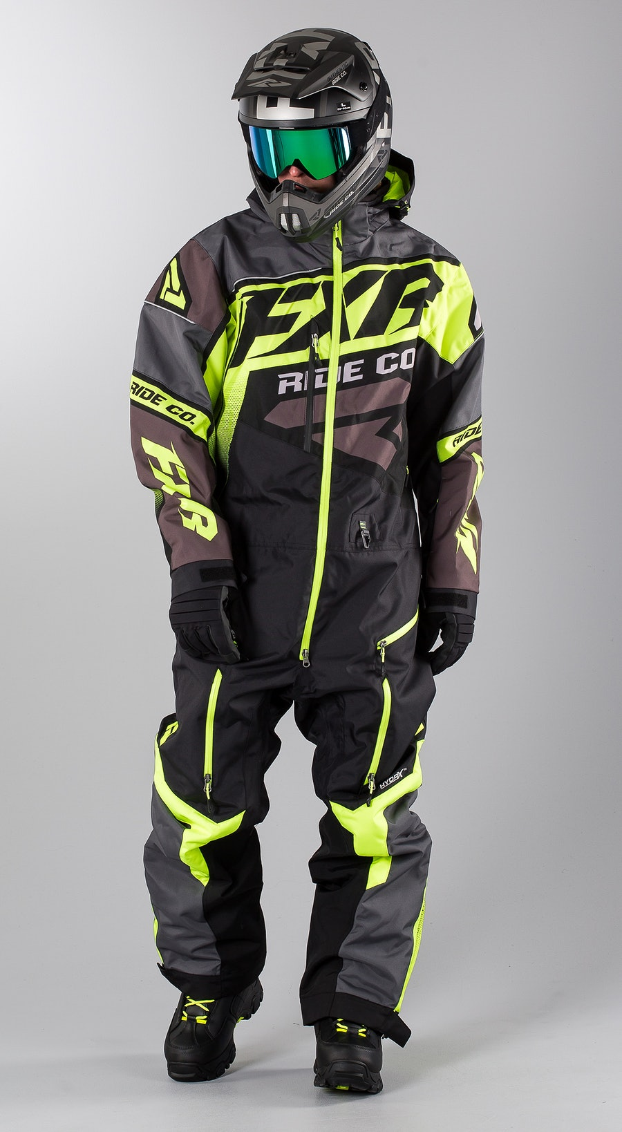 FXR CX Lite Black/Charcoal/Hi Vis Snowmobile clothing Multi