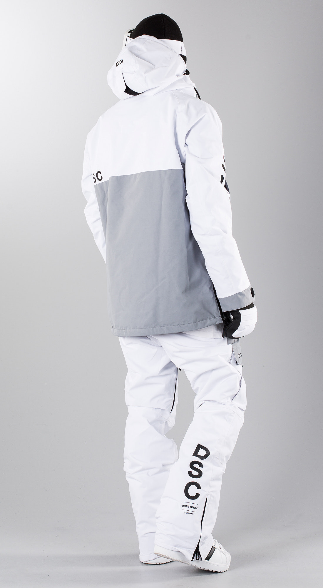 ef575ac2 Dope Annok DSC White/ Lt. Grey Snowboardklaer - Ridestore