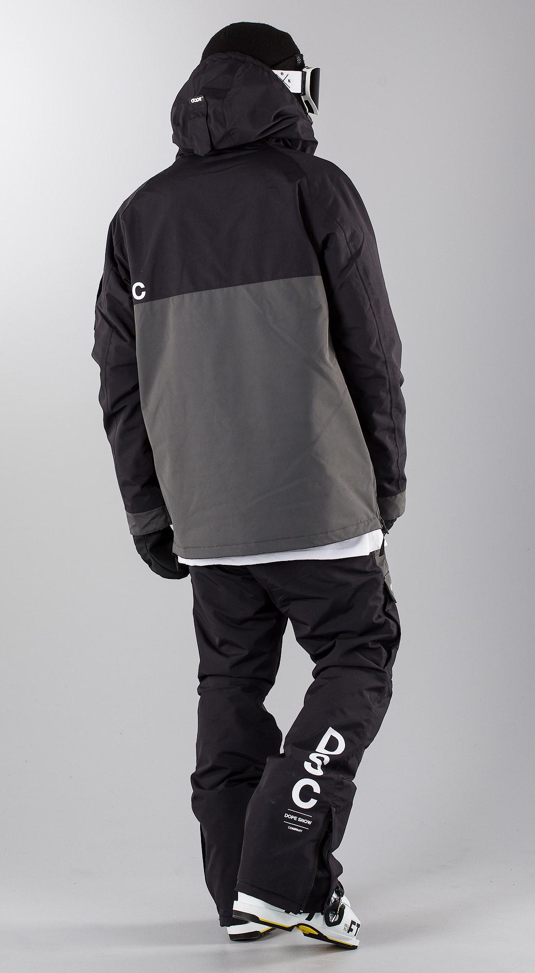 ce188f88bd0 Dope Annok DSC Black Dark Grey II Ski clothing - Ridestore