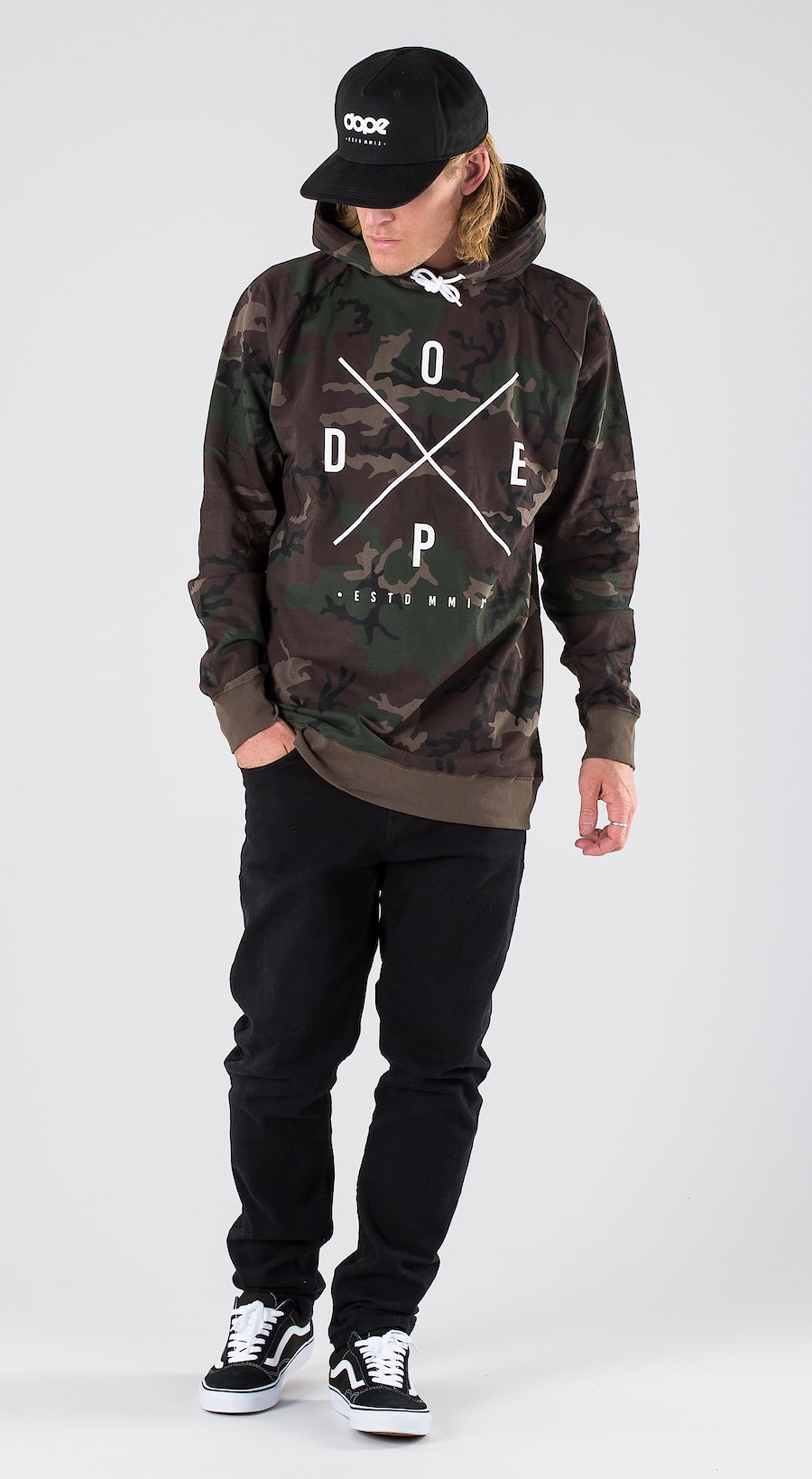 Dope 2X-Up Woodcamo Outfit Multi