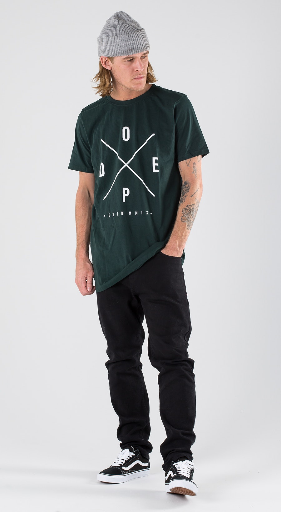Dope 2X-UP Royal Green Outfit Multi