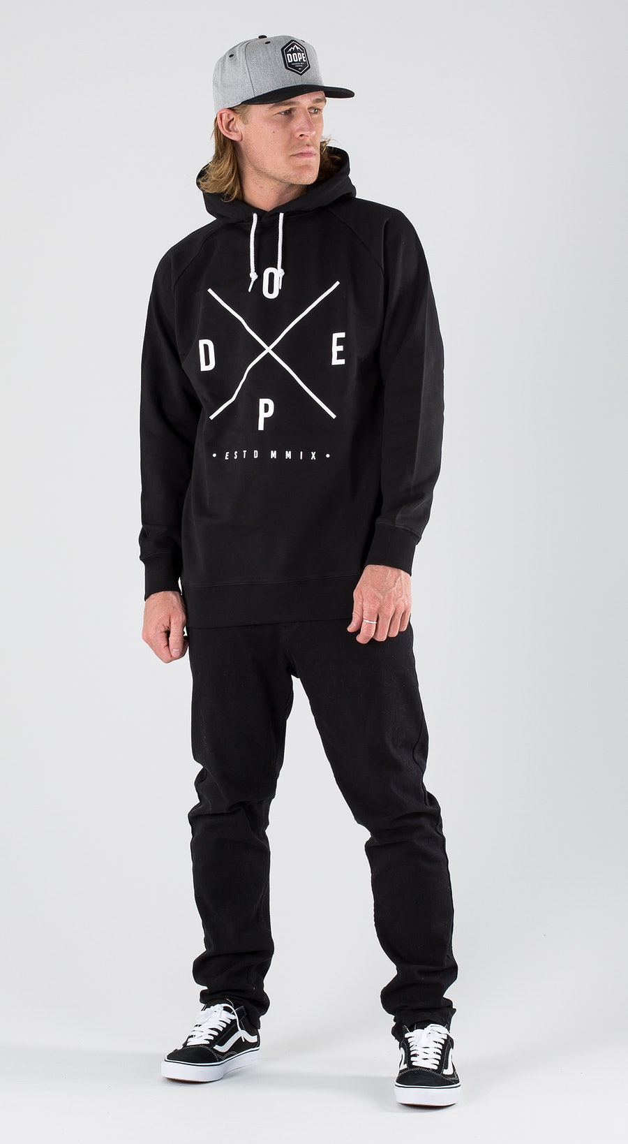 Dope 2X-UP Black Outfit Multi