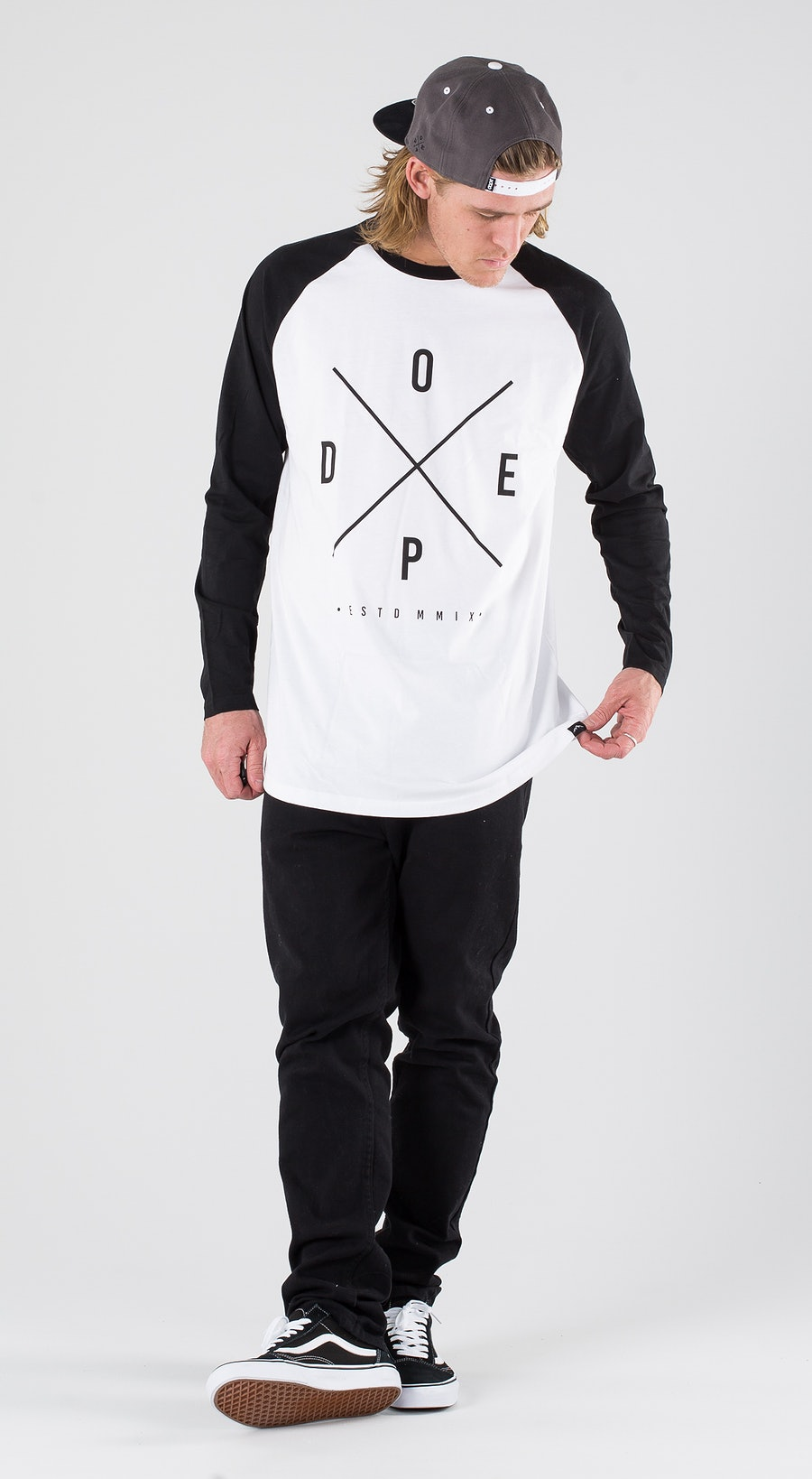 Dope 2X-Up White/Black Outfit Multi