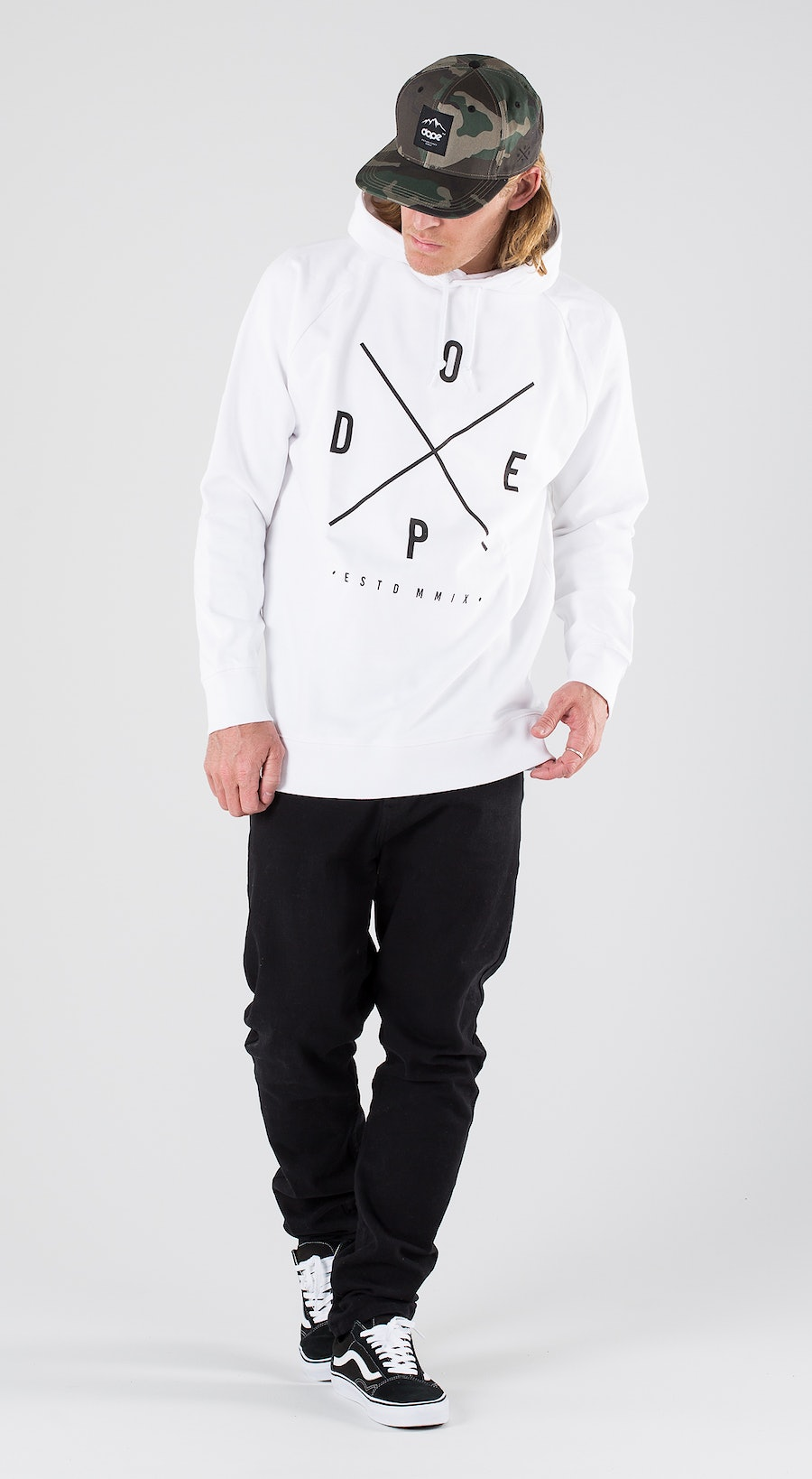 Dope 2X-Up White Outfit Multi
