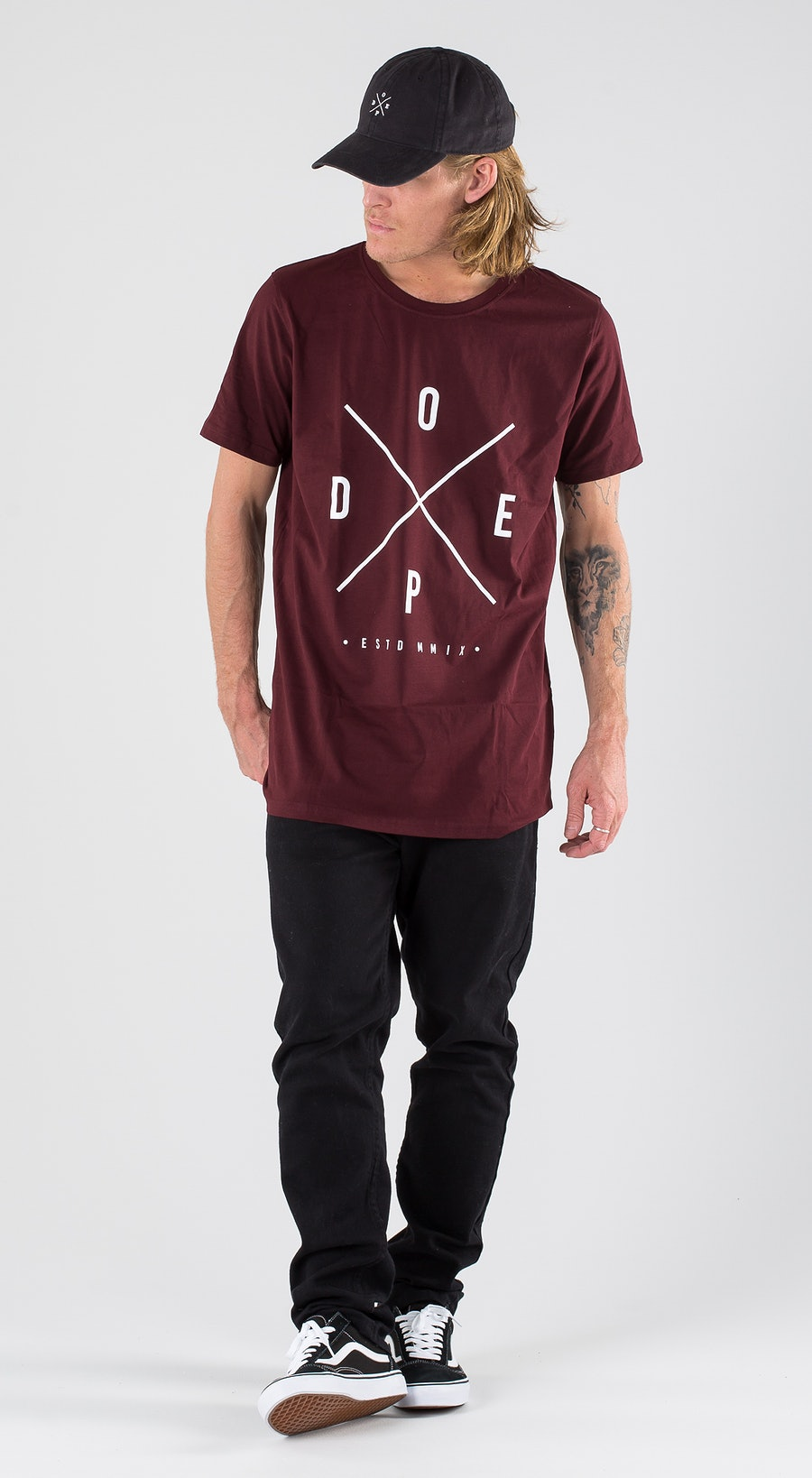 Dope 2X-UP Burgundy Outfit Multi