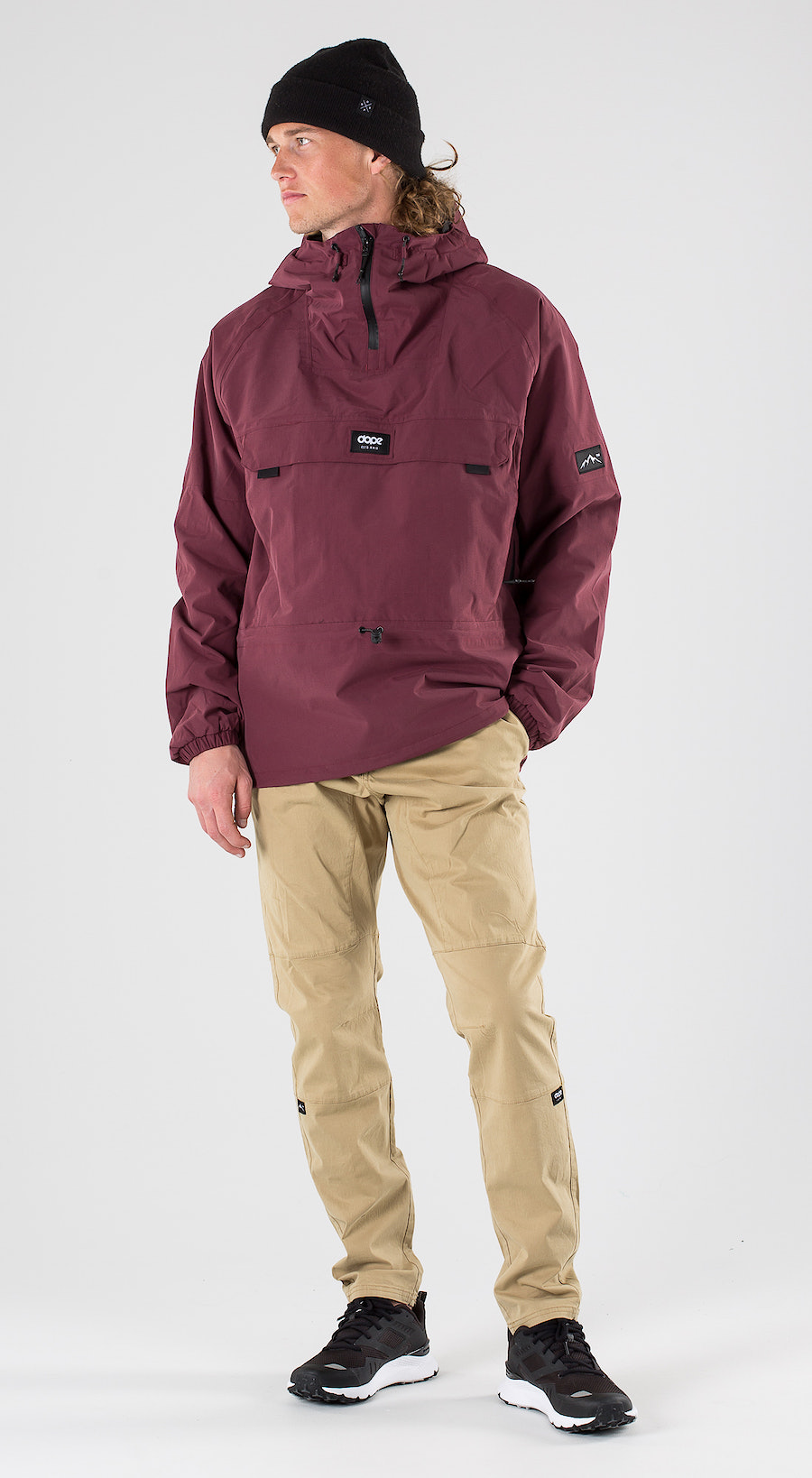 Dope Hiker Burgundy Outfit Multi