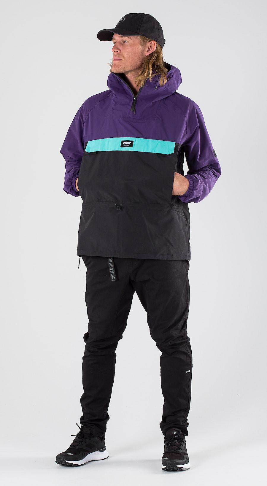 Dope Hiker Purple/Black/Azure Outfit Multi