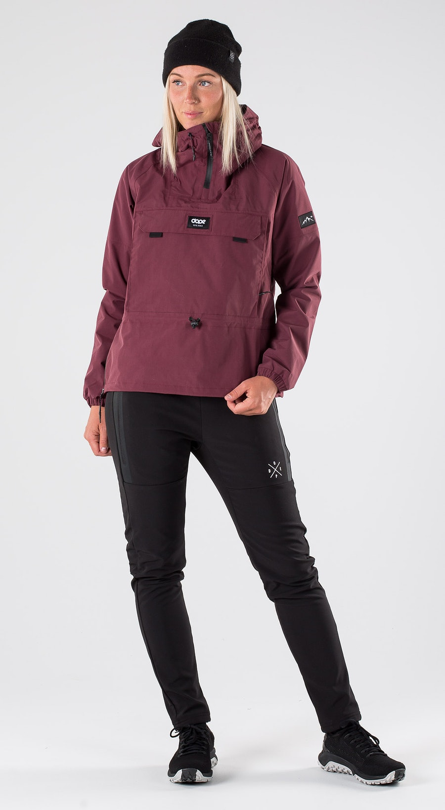 Dope Hiker W Burgundy Outfit Multi
