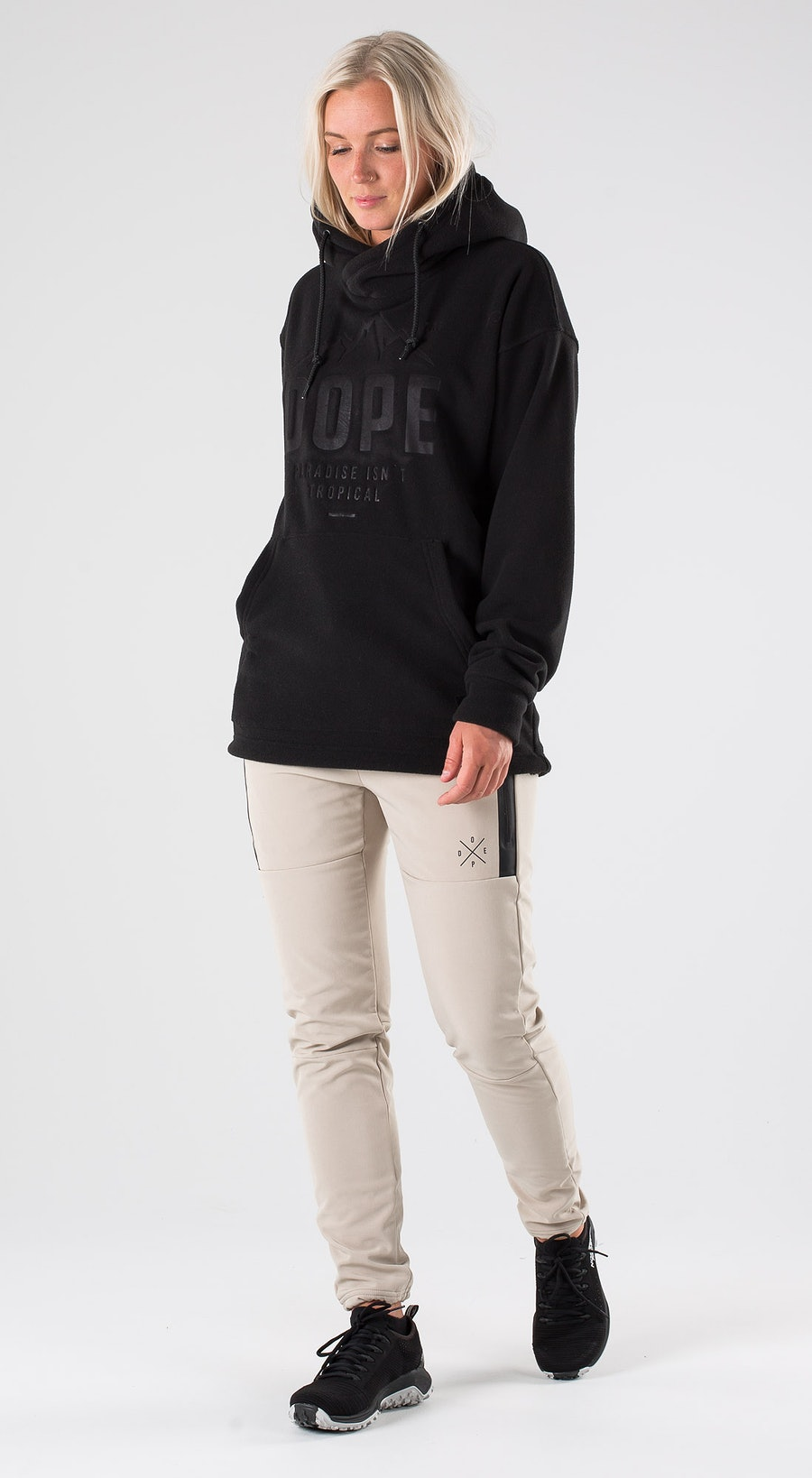 Dope Cozy W Black Outfit Multi