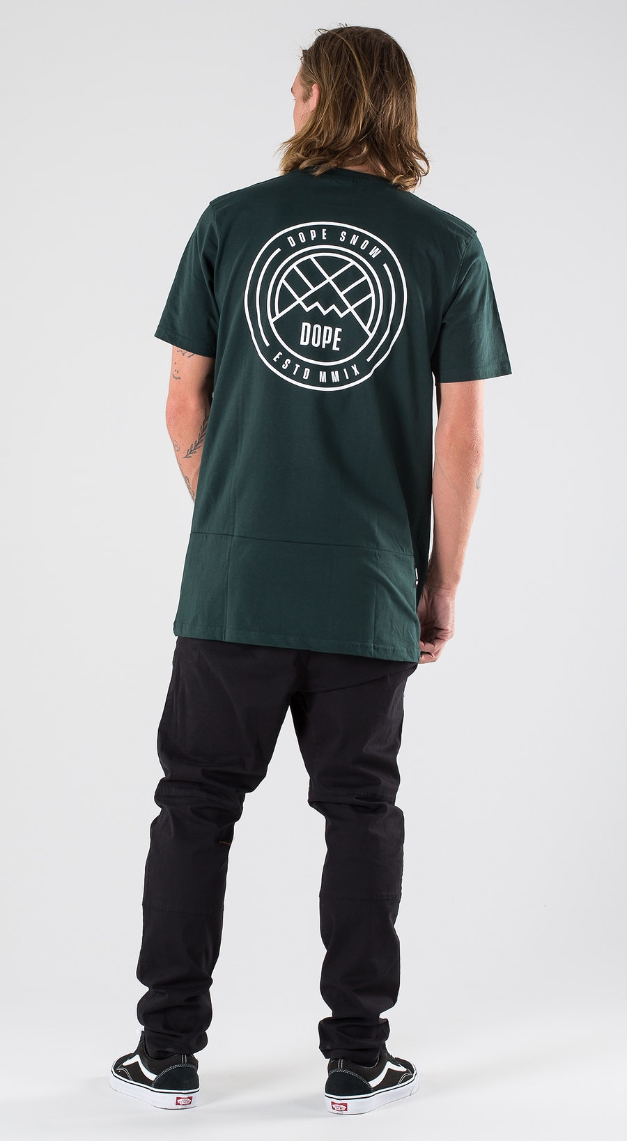 Dope Lines Royal Green Outfit Multi