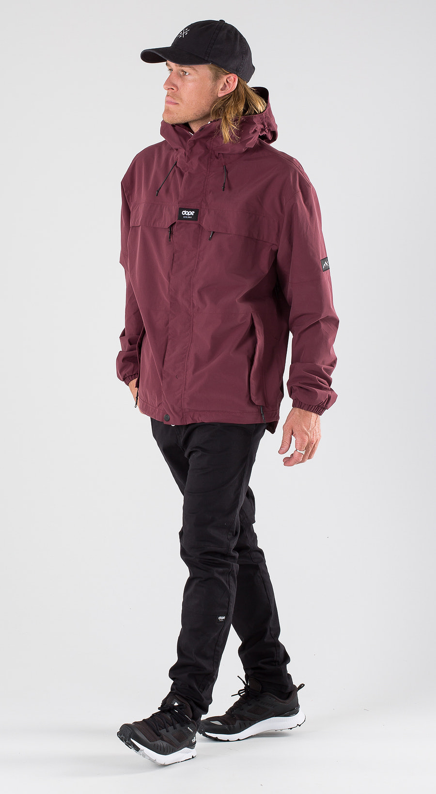 Dope Trekker Burgundy Outfit Multi