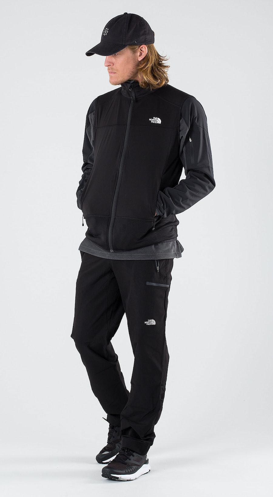 The North Face Hybrid Softshell V Tnf Black/Tnf Black Outfit Multi