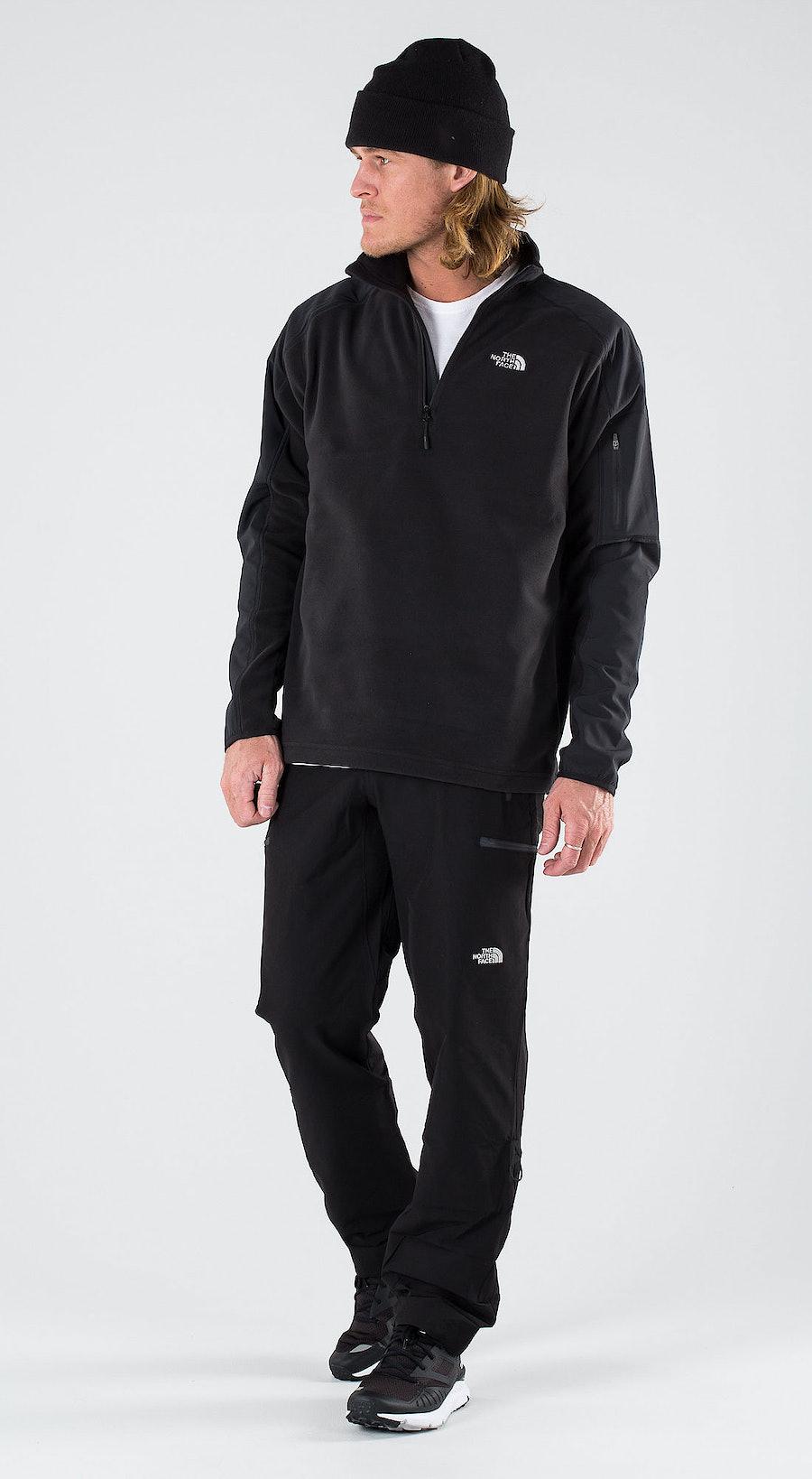 The North Face Glacier Delta 1/4 Tnf Black Outfit Multi