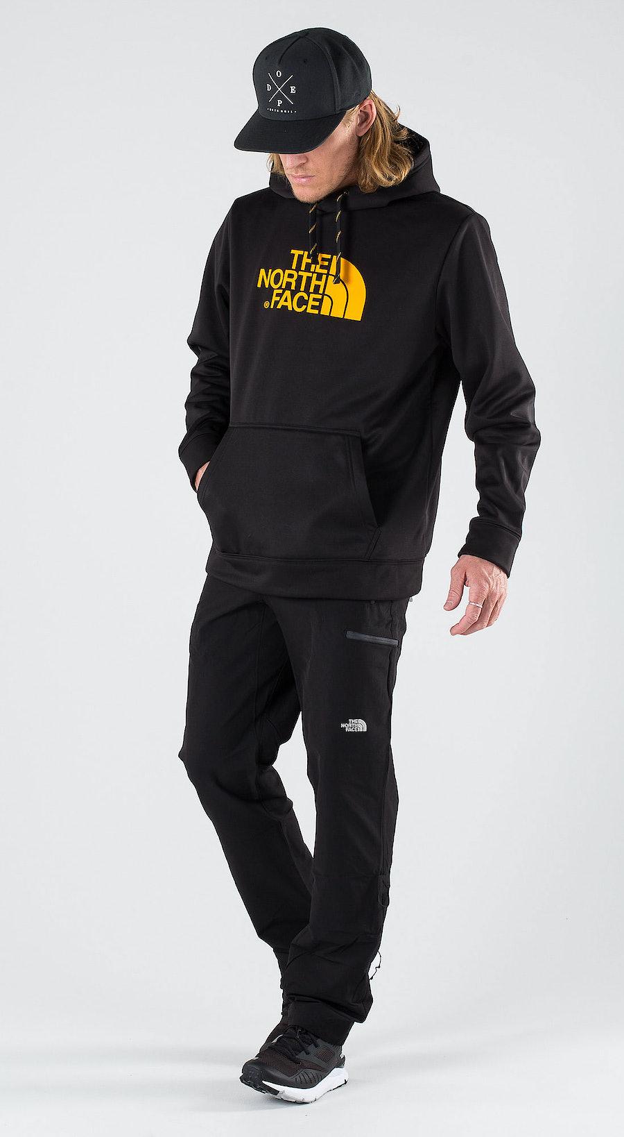 The North Face Sur Hd- Eu Tnf Black/Zinnia Orange Outfit Multi