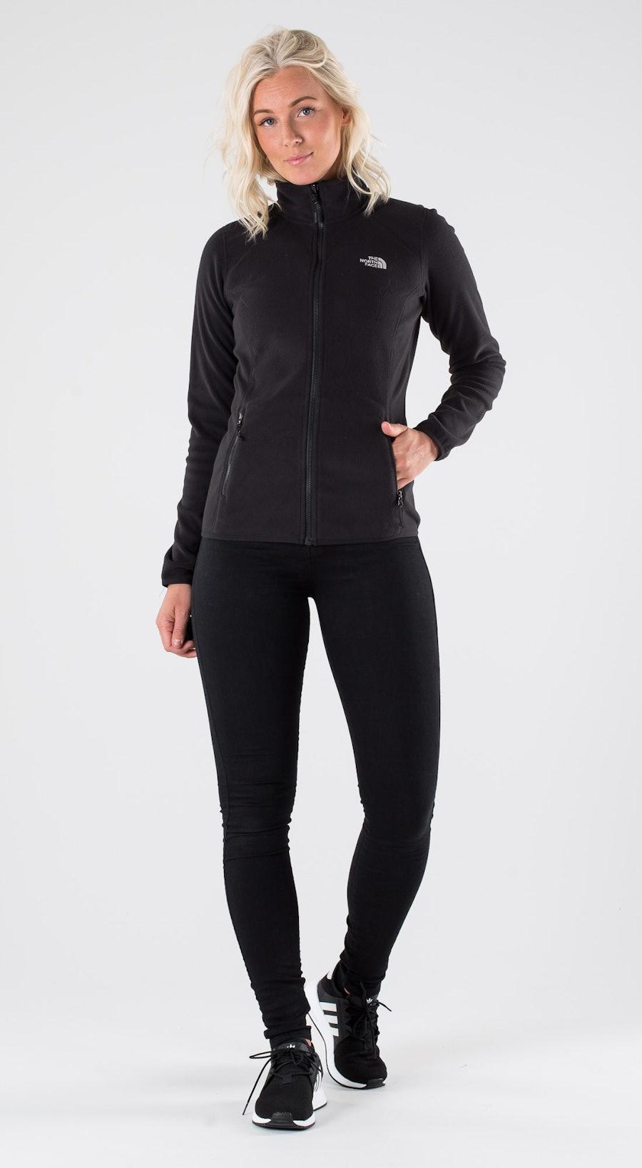 The North Face 100 Glacier Full Z Tnf Black Outfit Multi