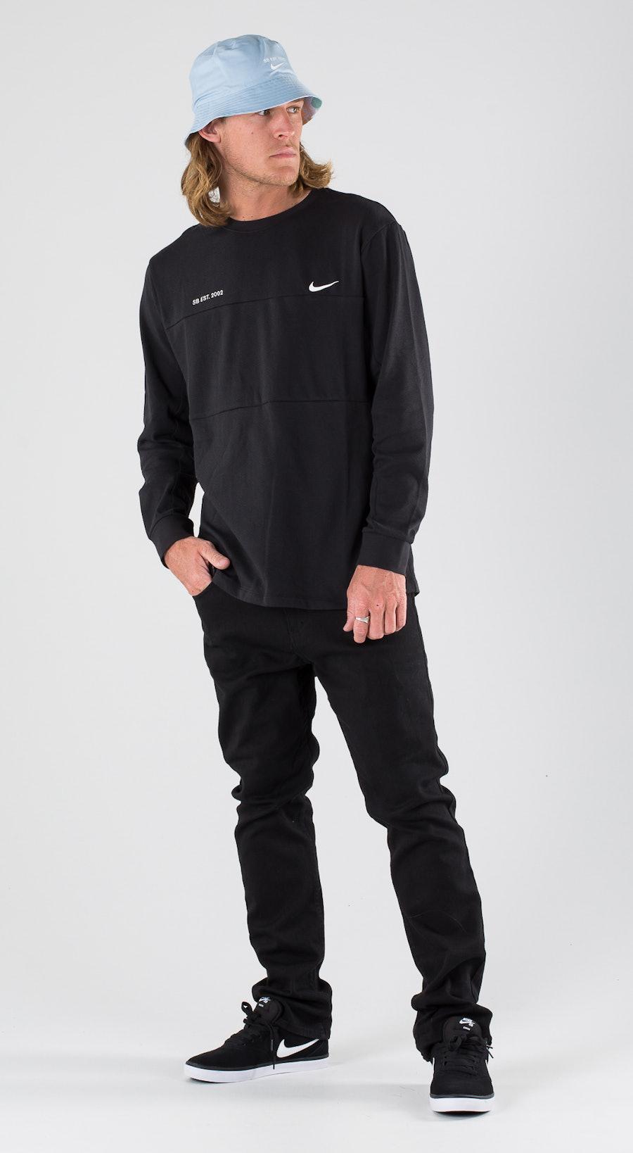 Nike SB Top Mesh Black/White Outfit Multi