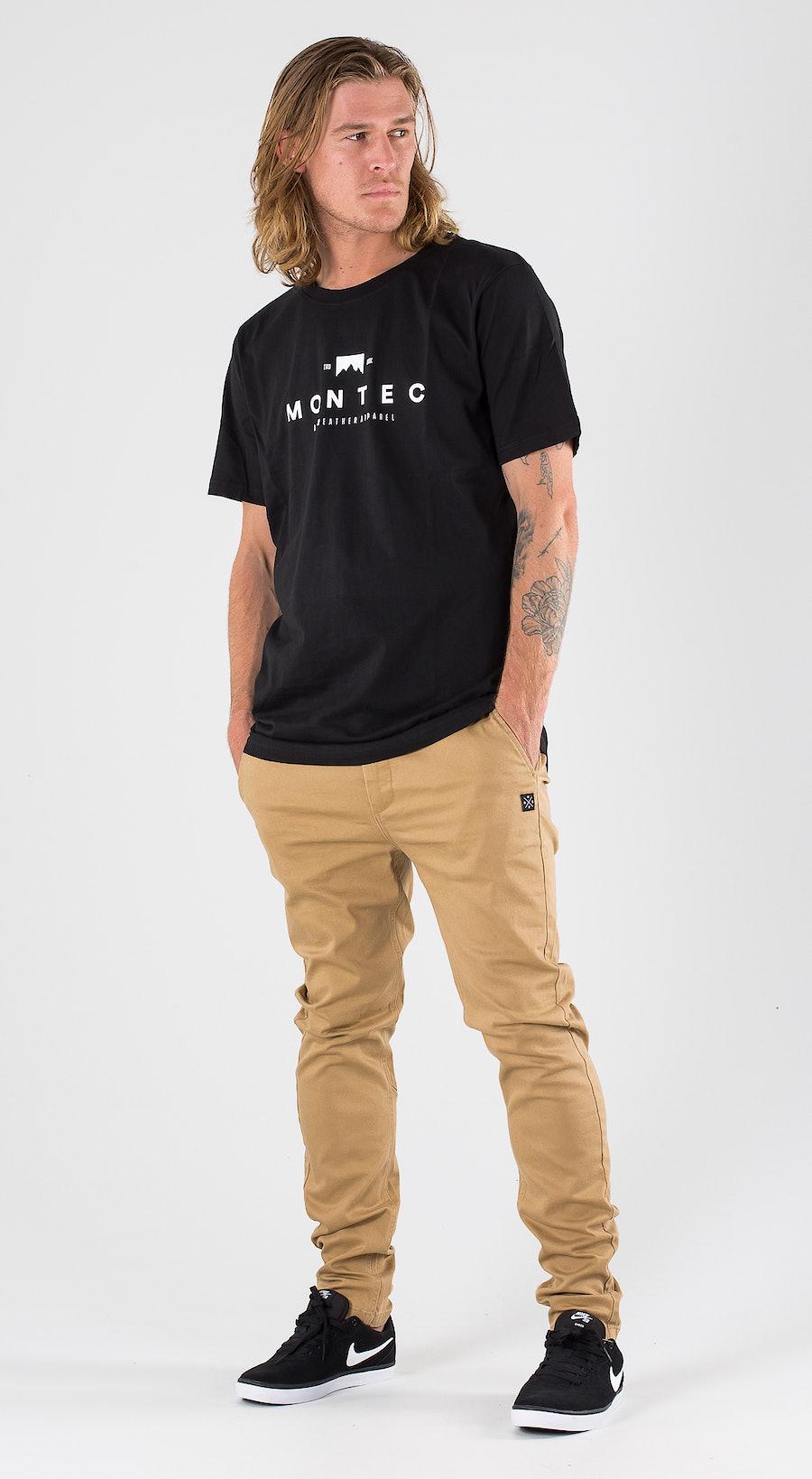 Montec Fancy Black Outfit Multi