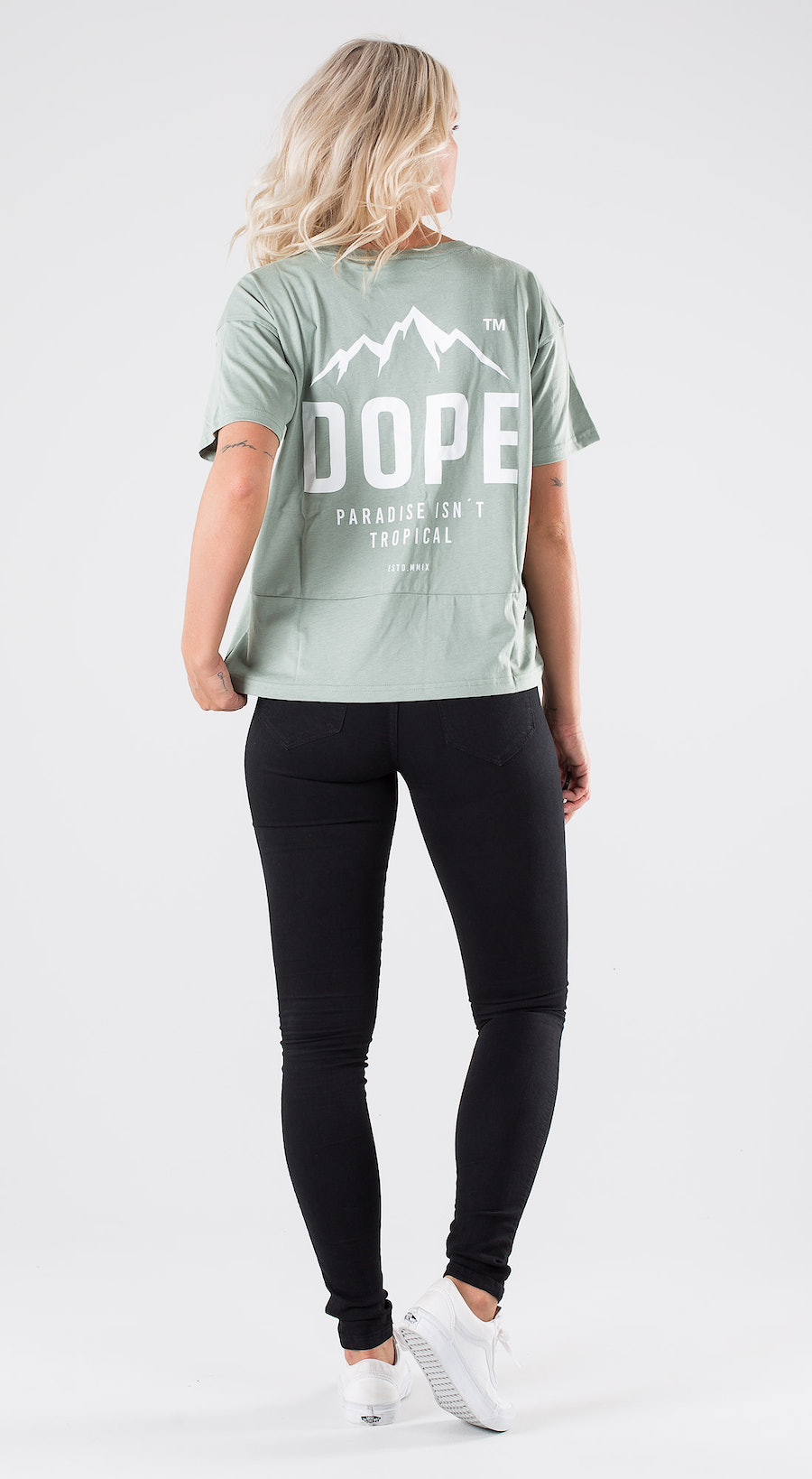 Dope Grand Paradise II Faded Green Outfit Multi
