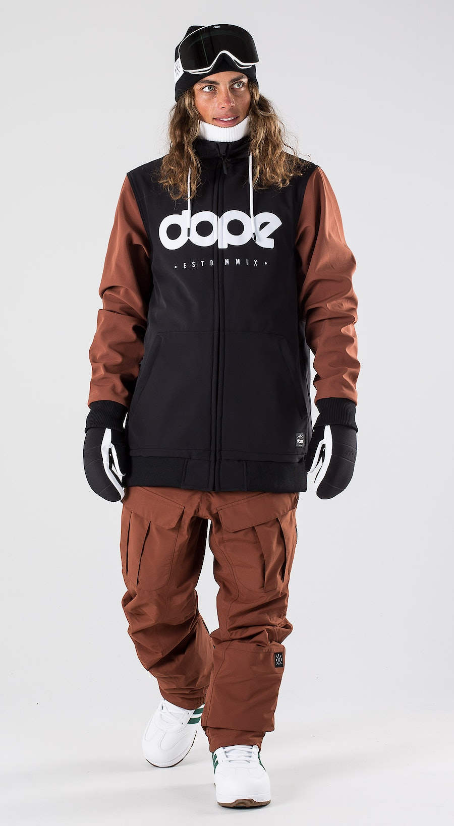 Dope Standard DO Black/Adobe Vêtements de Snowboard  Multi